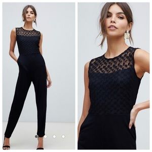 NWT French Connection mesh w/ pockets Sz 6